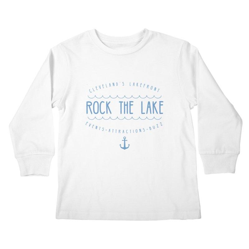 Rock the Lake (alternate) Kids Longsleeve T-Shirt by Rock the Lake's Shop