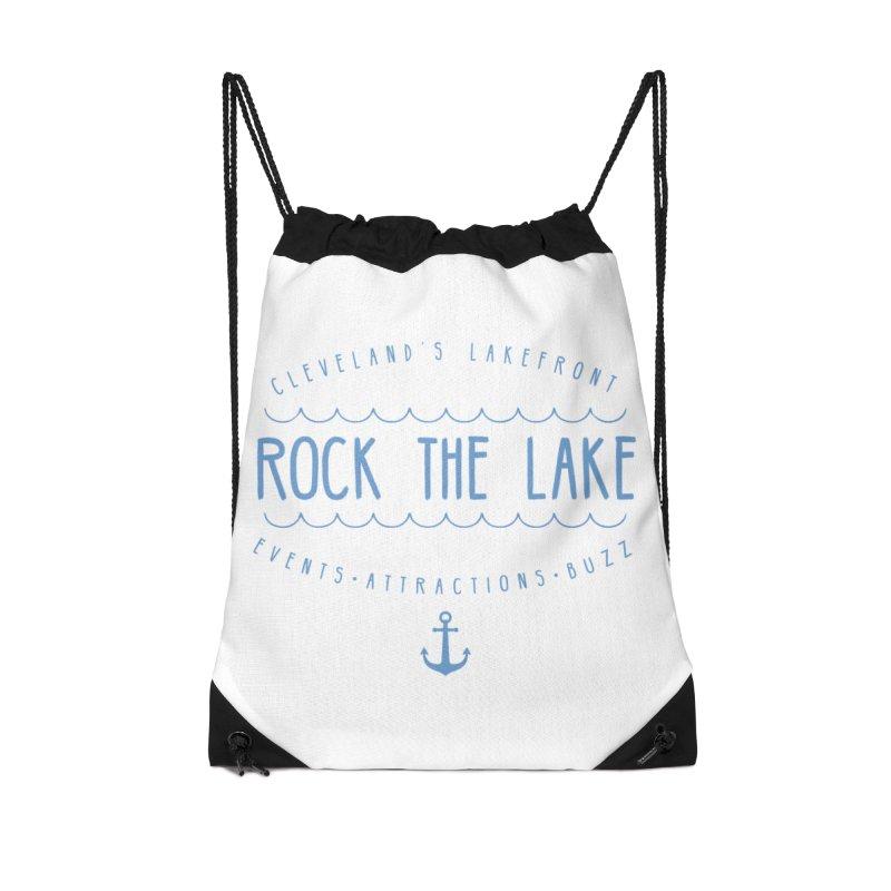 Rock the Lake (alternate) Accessories Drawstring Bag Bag by Rock the Lake's Shop