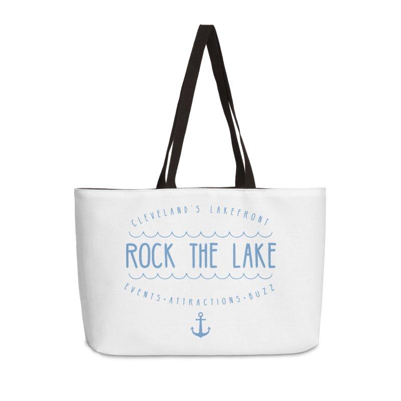 Rock the Lake (alternate) Accessories Weekender Bag Bag by Rock the Lake's Shop