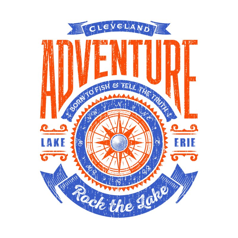 Cleveland Adventure - Rock the Lake Kids Toddler Pullover Hoody by Rock the Lake's Shop