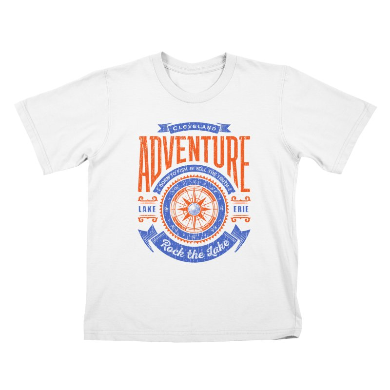 Cleveland Adventure - Rock the Lake Kids T-Shirt by Rock the Lake's Shop