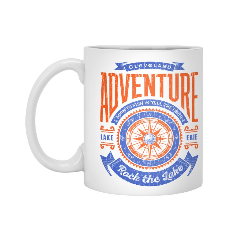 Cleveland Adventure - Rock the Lake Accessories Mug by Rock the Lake's Shop