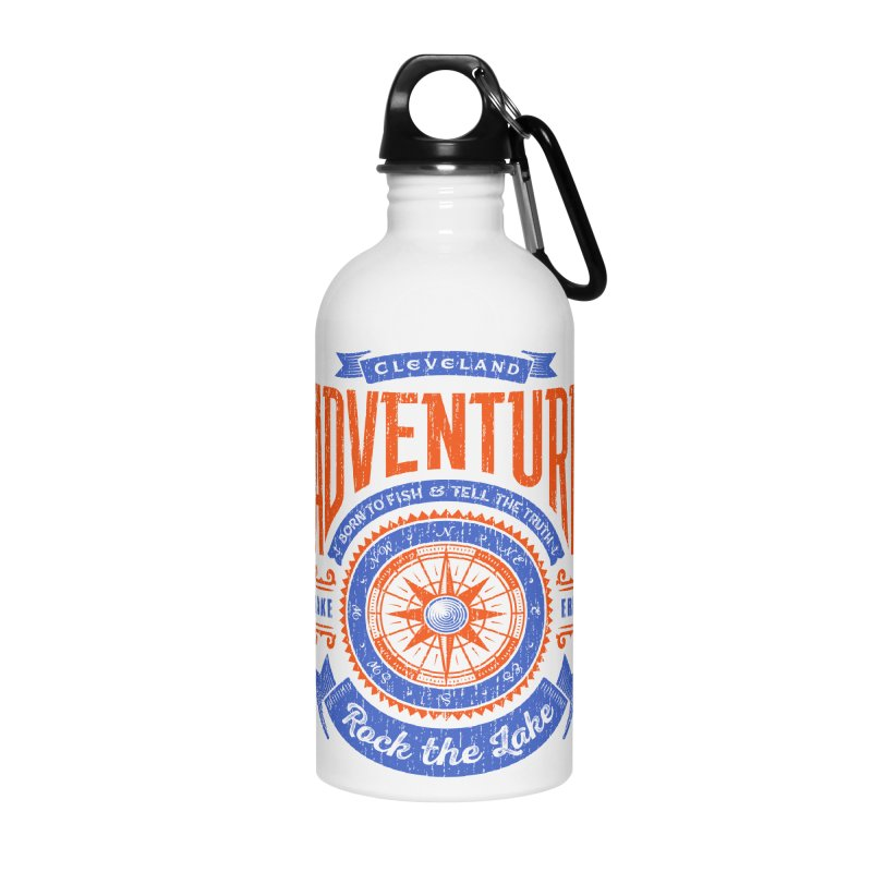 Cleveland Adventure - Rock the Lake Accessories Water Bottle by Rock the Lake's Shop