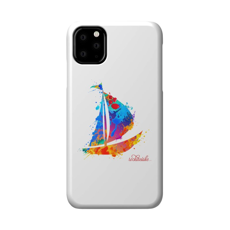 Sail Boat - Rock the Lake Accessories Phone Case by Rock the Lake's Shop