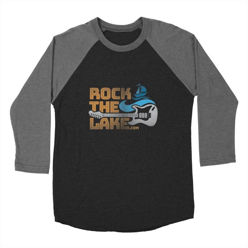 Rock the Lake Women's Baseball Triblend Longsleeve T-Shirt by Rock the Lake's Shop