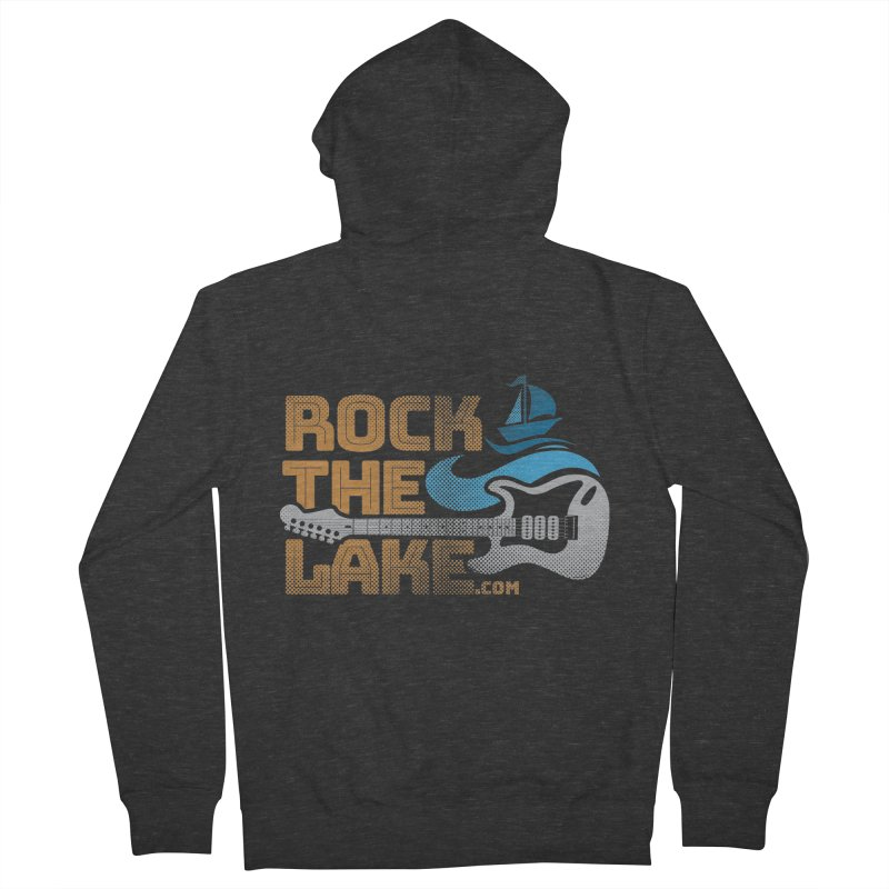 Rock the Lake Men's French Terry Zip-Up Hoody by Rock the Lake's Shop