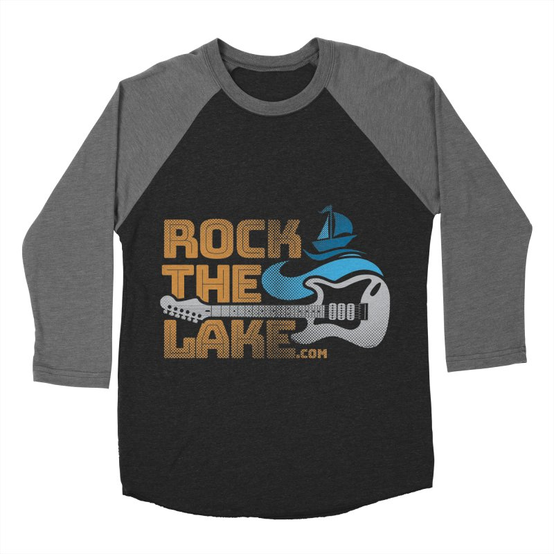 Rock the Lake Men's Baseball Triblend Longsleeve T-Shirt by Rock the Lake's Shop