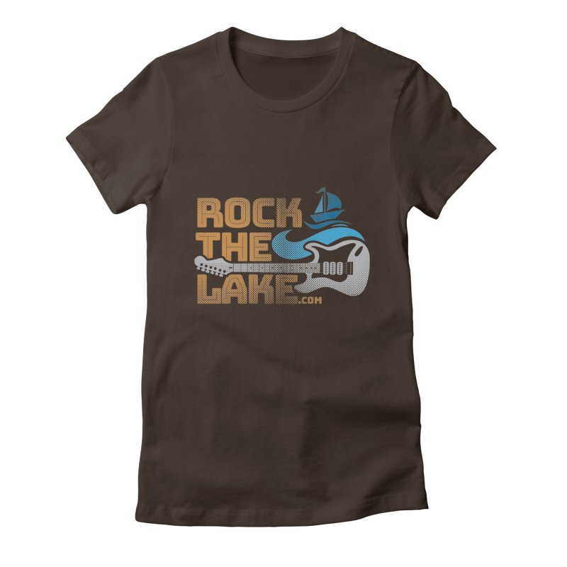 Rock the Lake Women's Fitted T-Shirt by Rock the Lake's Shop
