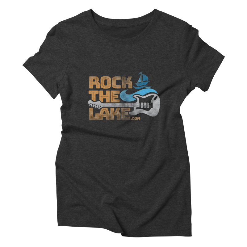 Rock the Lake Women's Triblend T-Shirt by Rock the Lake's Shop