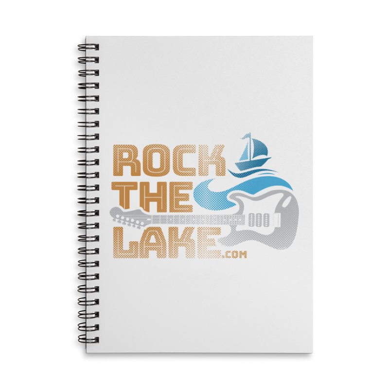 Rock the Lake Accessories Lined Spiral Notebook by Rock the Lake's Shop