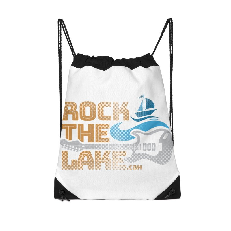 Rock the Lake Accessories Drawstring Bag Bag by Rock the Lake's Shop