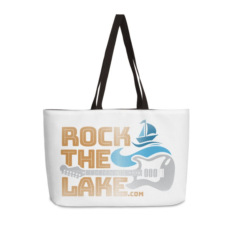 Rock the Lake Accessories Weekender Bag Bag by Rock the Lake's Shop