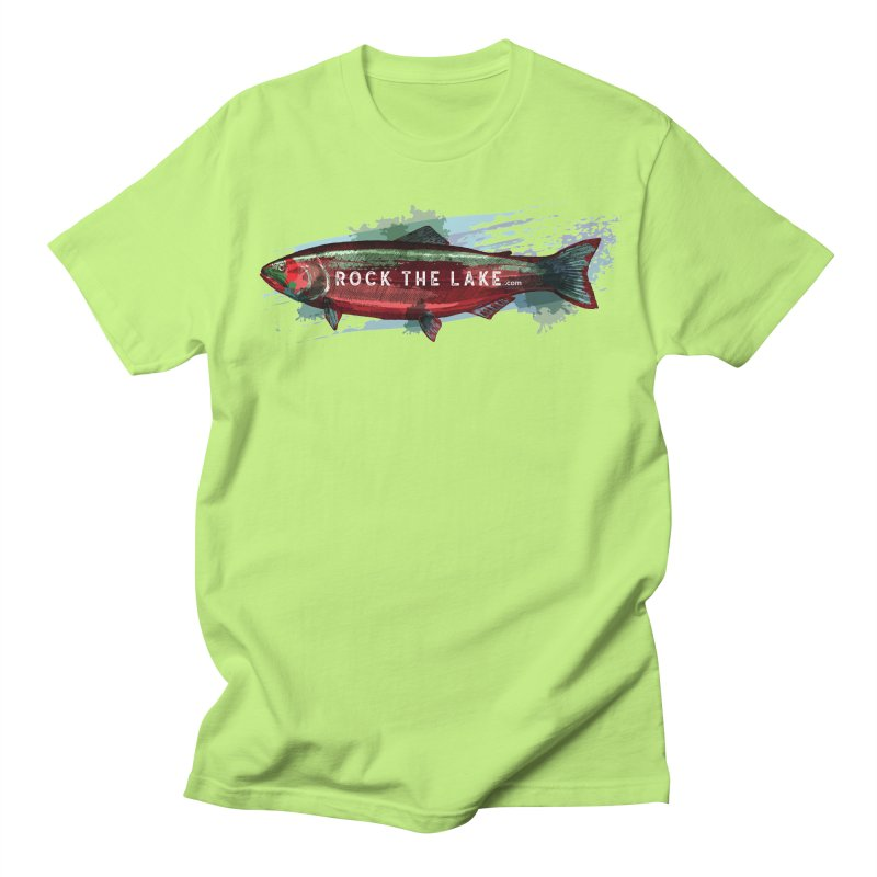 Rock the Lake - Fish Men's Regular T-Shirt by Rock the Lake's Shop
