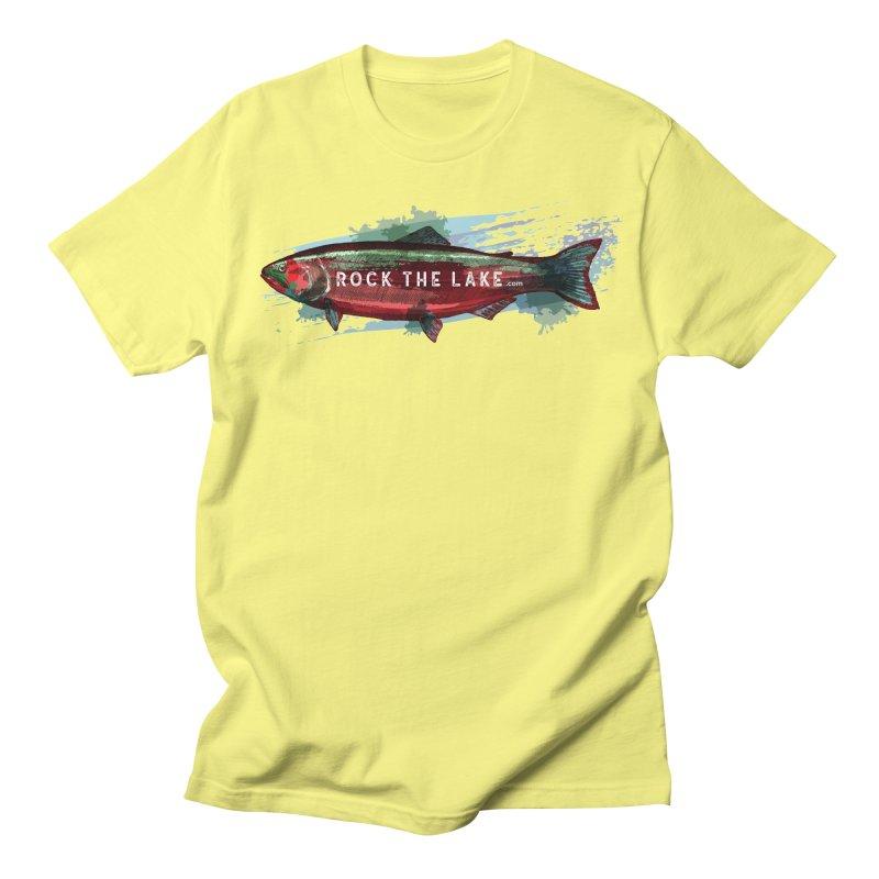 Rock the Lake - Fish Men's Regular T-Shirt by Rock the Lake's Shop