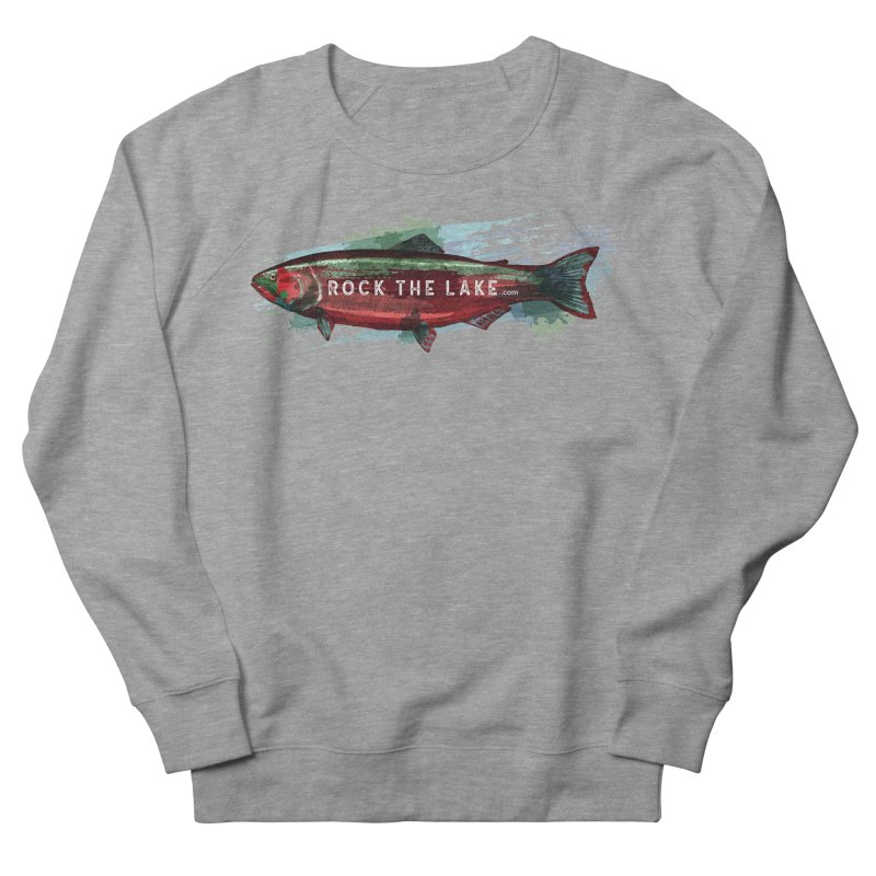 Rock the Lake - Fish Men's French Terry Sweatshirt by Rock the Lake's Shop