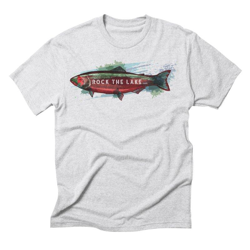 Rock the Lake - Fish Men's Triblend T-Shirt by Rock the Lake's Shop