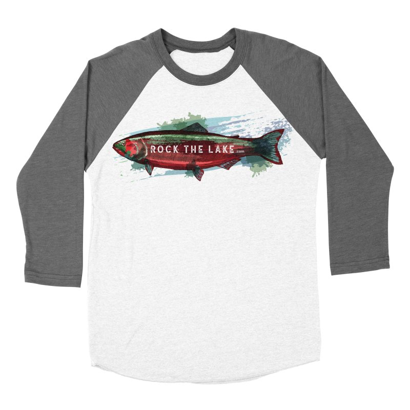 Rock the Lake - Fish Women's Baseball Triblend Longsleeve T-Shirt by Rock the Lake's Shop