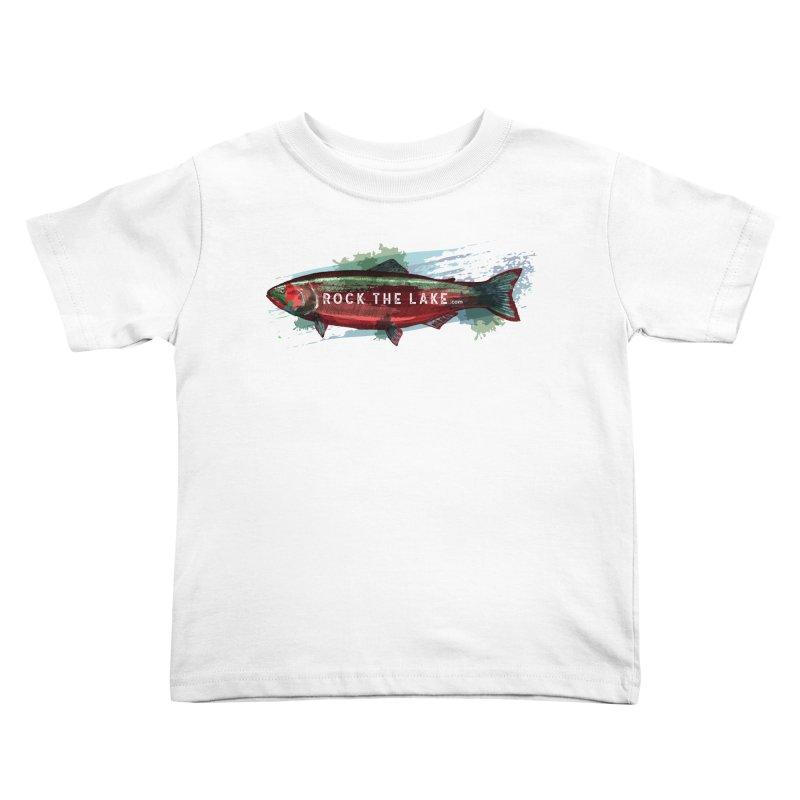 Rock the Lake - Fish Kids Toddler T-Shirt by Rock the Lake's Shop