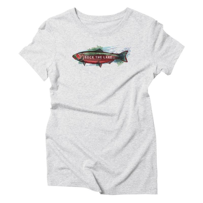 Rock the Lake - Fish Women's T-Shirt by Rock the Lake's Shop