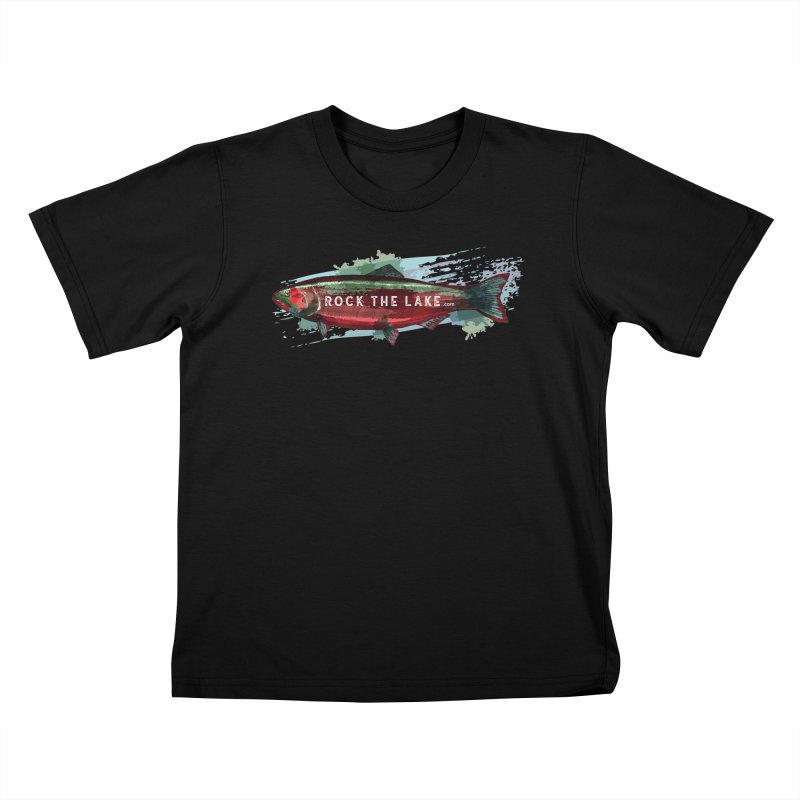 Rock the Lake - Fish Kids T-Shirt by Rock the Lake's Shop