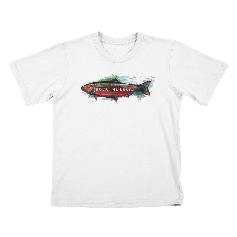 Rock the Lake - Fish Kids T-Shirt by Rock the Lake's Shop