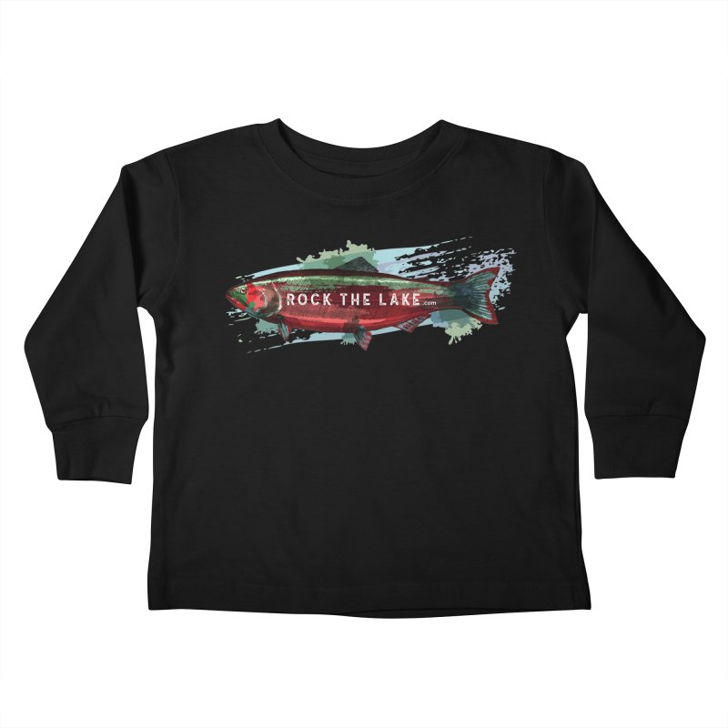 Rock the Lake - Fish Kids Toddler Longsleeve T-Shirt by Rock the Lake's Shop