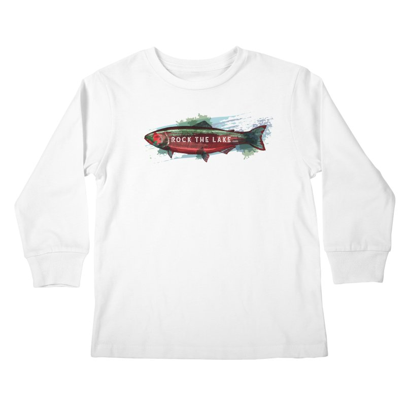 Rock the Lake - Fish Kids Longsleeve T-Shirt by Rock the Lake's Shop
