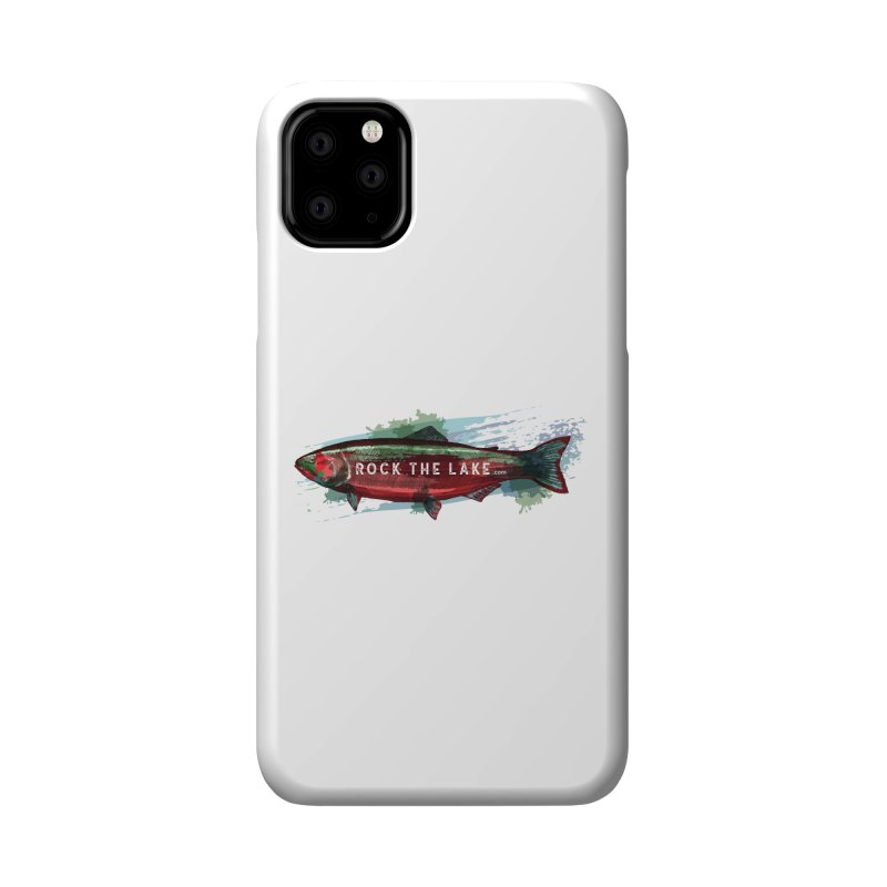 Rock the Lake - Fish Accessories Phone Case by Rock the Lake's Shop
