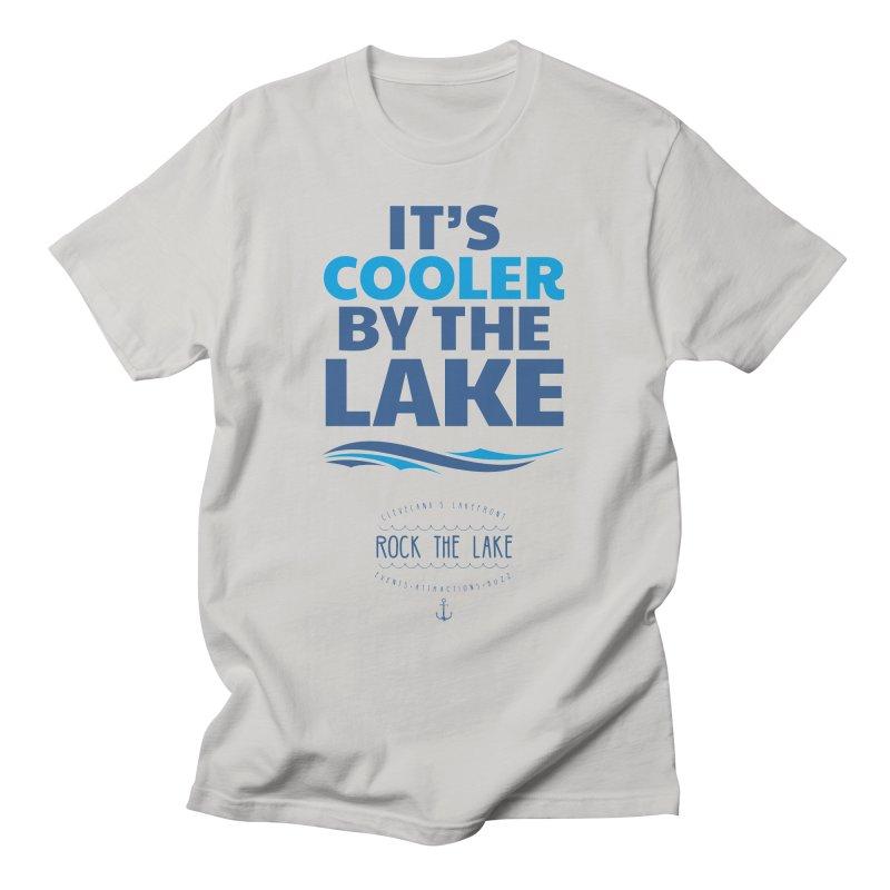 It's Cooler by the Lake - Rock the Lake Men's T-Shirt by Rock the Lake's Shop