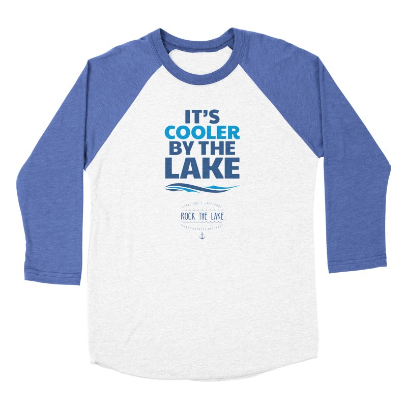 It's Cooler by the Lake - Rock the Lake Men's Longsleeve T-Shirt by Rock the Lake's Shop