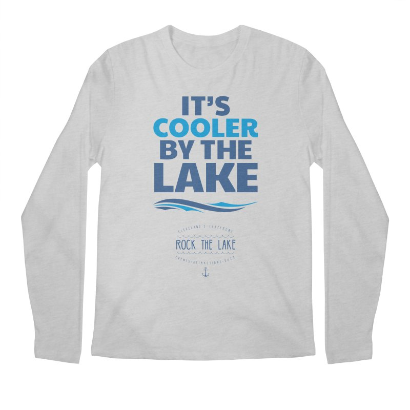 It's Cooler by the Lake - Rock the Lake Men's Regular Longsleeve T-Shirt by Rock the Lake's Shop