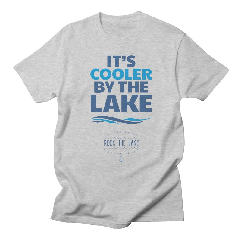 It's Cooler by the Lake - Rock the Lake Men's Regular T-Shirt by Rock the Lake's Shop
