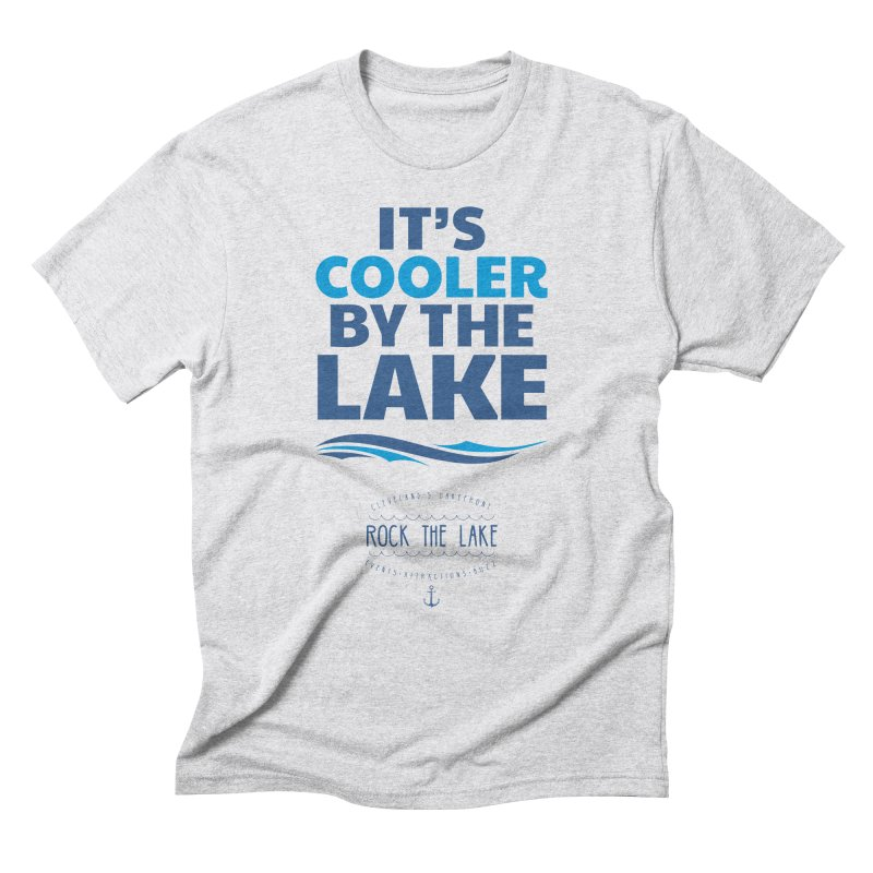 It's Cooler by the Lake - Rock the Lake Men's Triblend T-Shirt by Rock the Lake's Shop