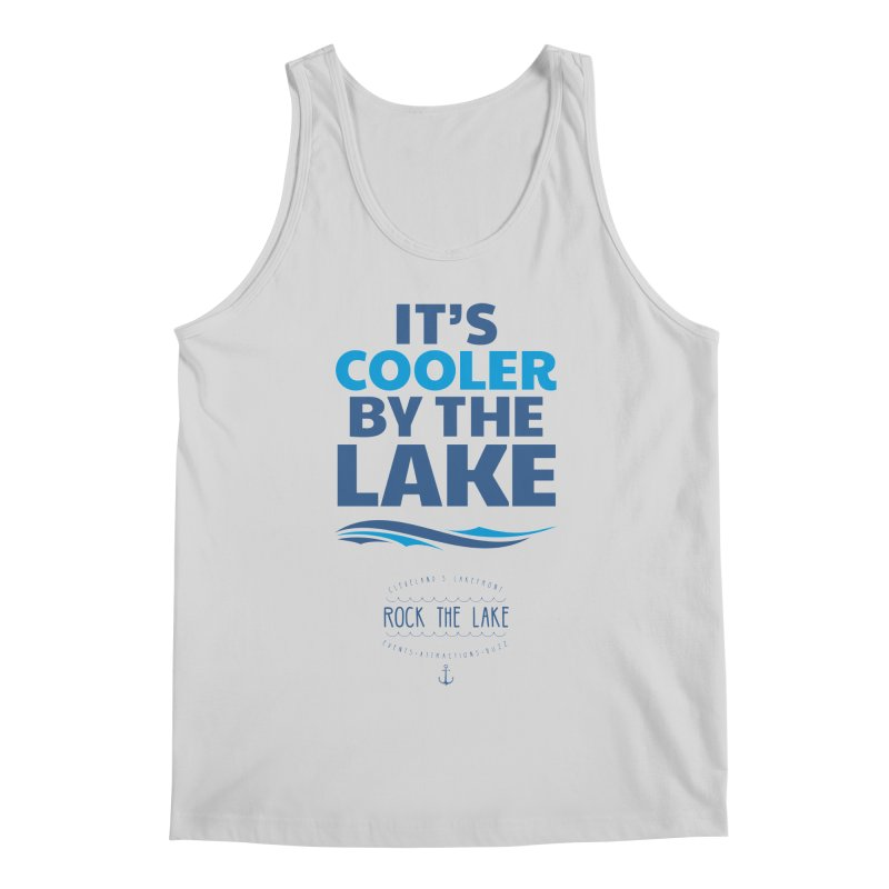 It's Cooler by the Lake - Rock the Lake Men's Regular Tank by Rock the Lake's Shop