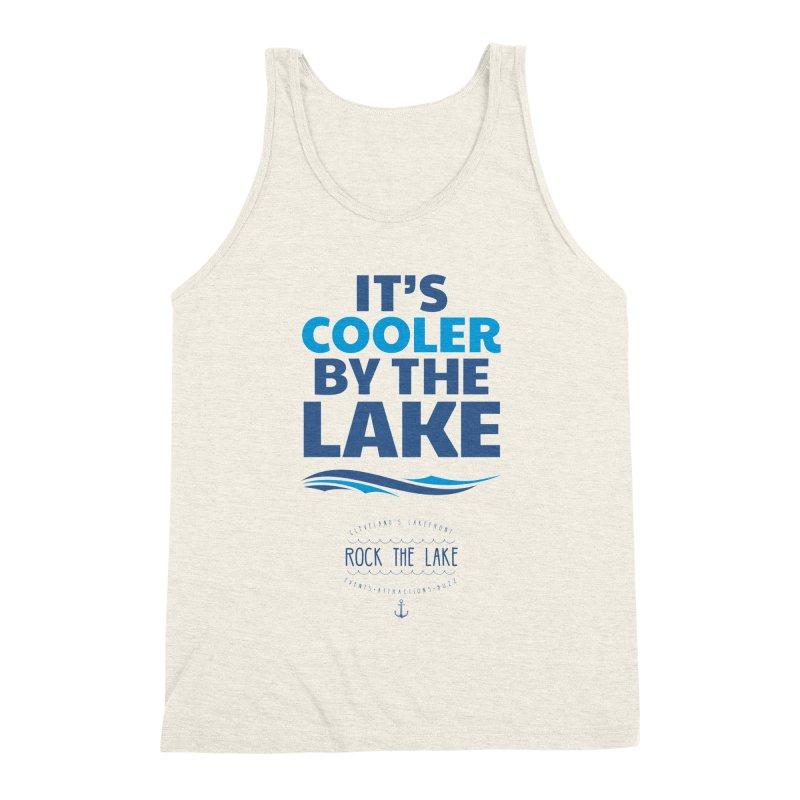 It's Cooler by the Lake - Rock the Lake Men's Tank by Rock the Lake's Shop
