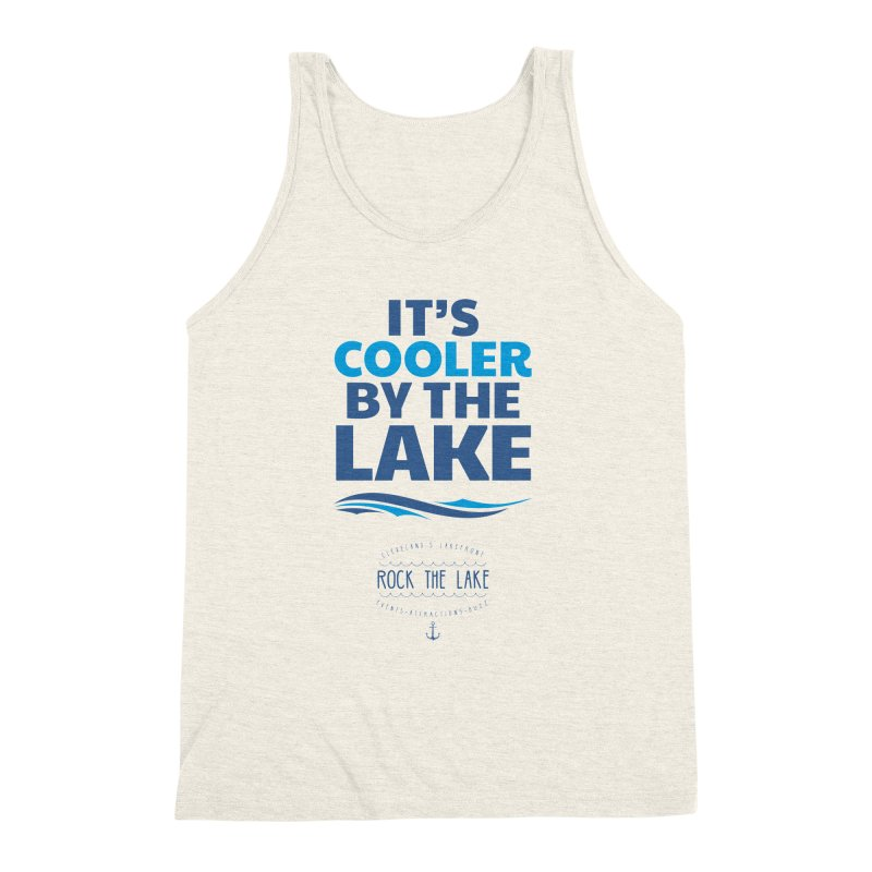 It's Cooler by the Lake - Rock the Lake Men's Tank by Rock the Lake's Shop