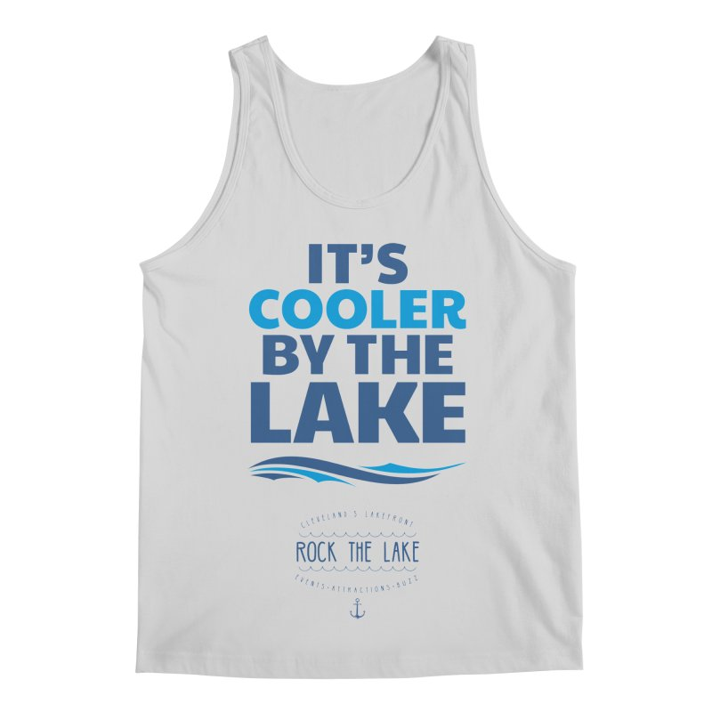 It's Cooler by the Lake - Rock the Lake Men's Regular Tank by Rock the Lake's Shop