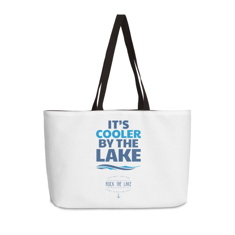 It's Cooler by the Lake - Rock the Lake Accessories Bag by Rock the Lake's Shop