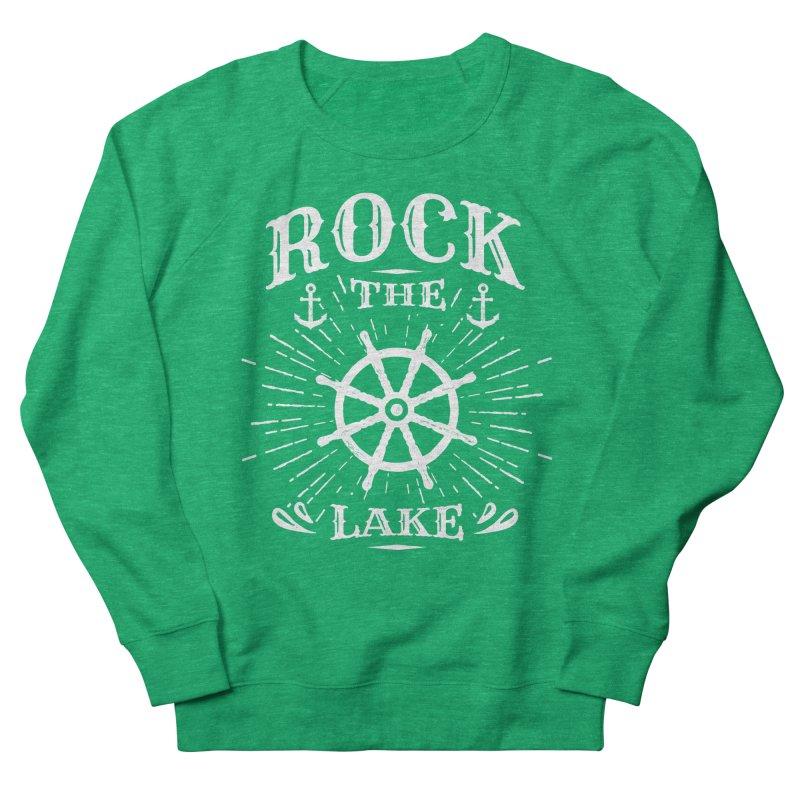 Rock the Lake - Ships Wheel White Women's Sweatshirt by Rock the Lake's Shop