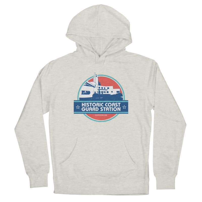 Old Coast Guard Station Women's French Terry Pullover Hoody by Rock the Lake's Shop