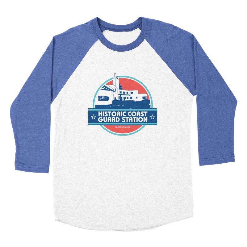 Old Coast Guard Station Men's Longsleeve T-Shirt by Rock the Lake's Shop