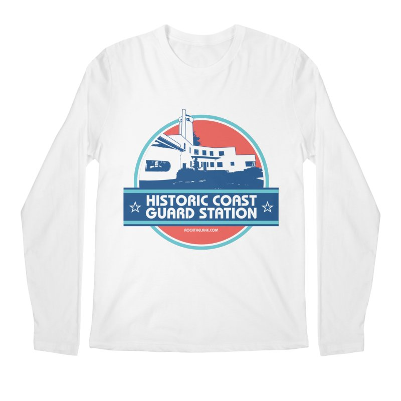 Old Coast Guard Station Men's Regular Longsleeve T-Shirt by Rock the Lake's Shop