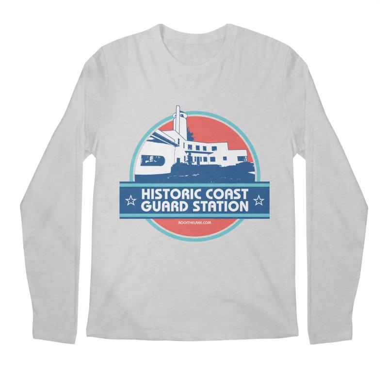 Old Coast Guard Station Men's Regular Longsleeve T-Shirt by Rock the Lake's Shop