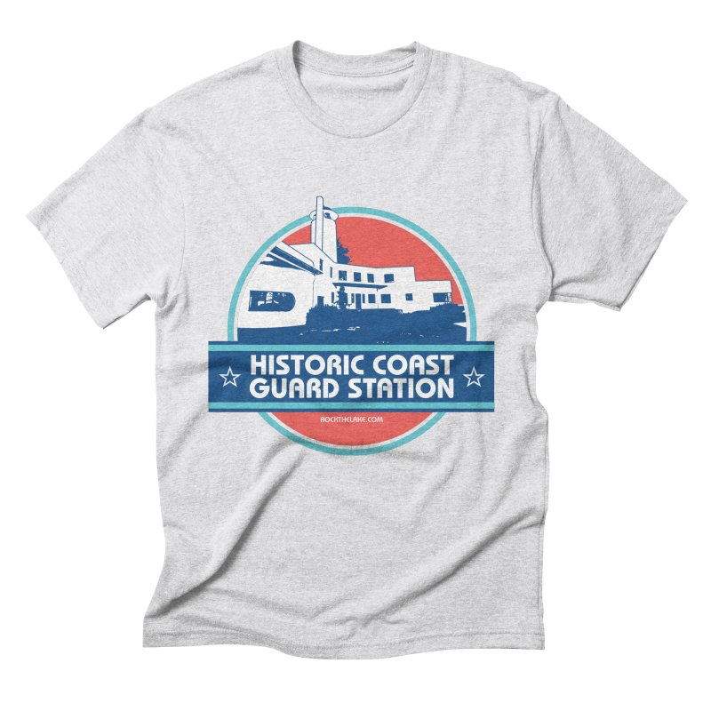 Old Coast Guard Station Men's Triblend T-Shirt by Rock the Lake's Shop
