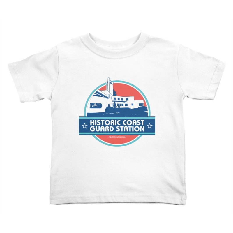 Old Coast Guard Station Kids Toddler T-Shirt by Rock the Lake's Shop