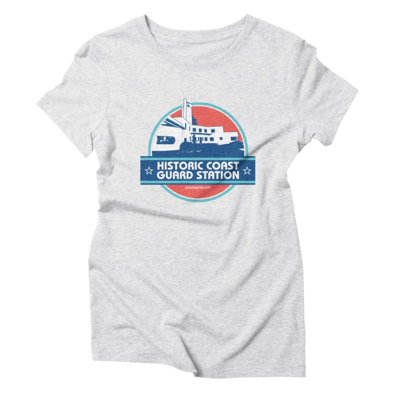 Old Coast Guard Station Women's T-Shirt by Rock the Lake's Shop