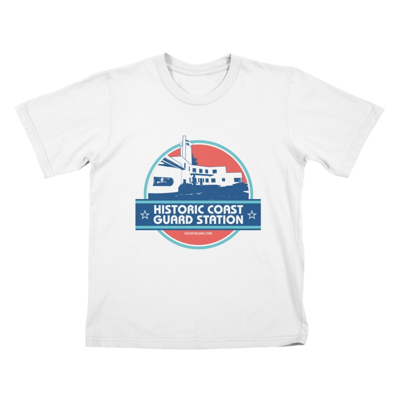 Old Coast Guard Station Kids T-Shirt by Rock the Lake's Shop
