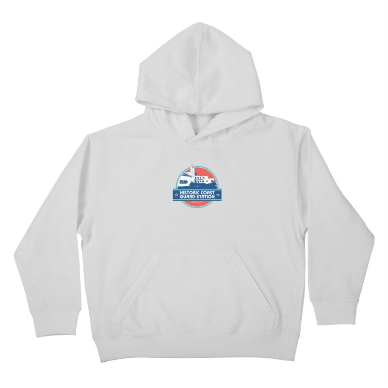 Old Coast Guard Station Kids Pullover Hoody by Rock the Lake's Shop