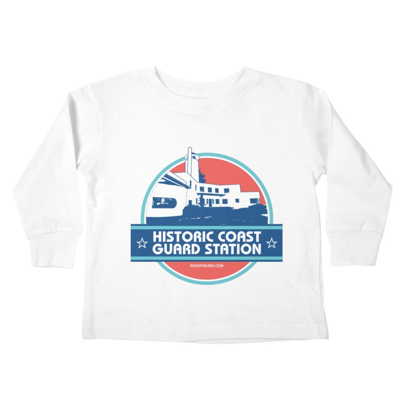 Old Coast Guard Station Kids Toddler Longsleeve T-Shirt by Rock the Lake's Shop