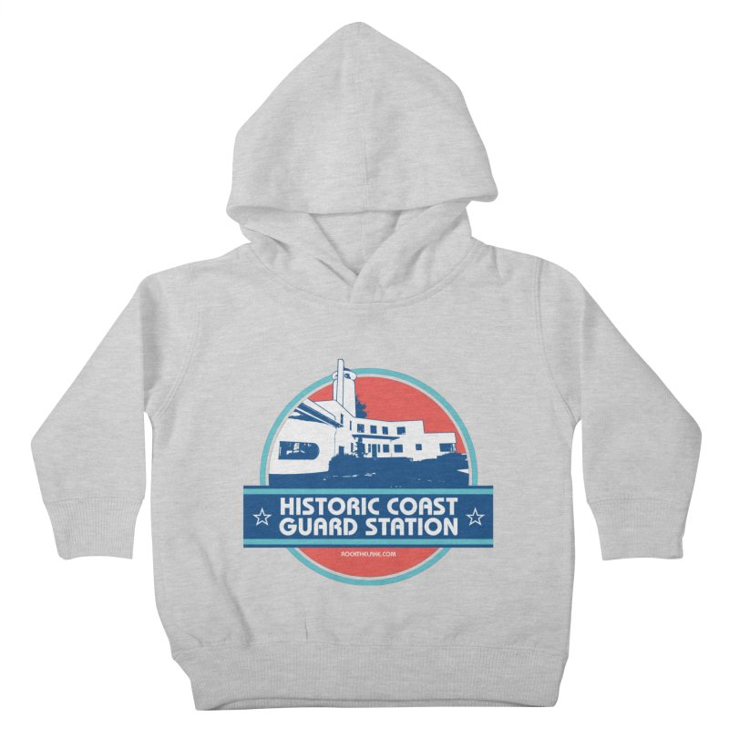 Old Coast Guard Station Kids Toddler Pullover Hoody by Rock the Lake's Shop